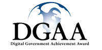 Digital Government Achievement Award (DGAA) logo