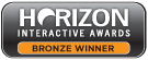 Horizon Interactive Awards Bronze Winner