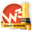 w3 2015 Gold Winner Award